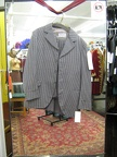 4 button suit grey check 38