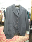 4 button suit grey stripe 44 Opera