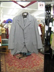 4 button suit lt grey 38