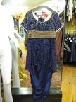 1910 gown blue