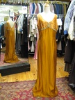1920s30s evening gown gold