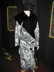 Art Deco Coat B&W