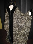 Art Deco Coat Black & Gold
