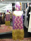 Flapper purple & gold