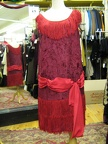 Flapper Red Fringe & sash