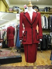 1940's Suit Red