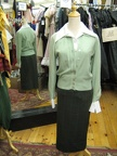 1950's combo Green sweater