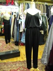 70's jumpsuit black