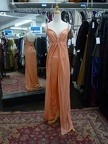 70's jumpsuit sparkly peach