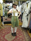 Lederhosen new light green