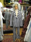 Stripe Suit and Wig