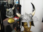 Viking Helmet nose-guard silver
