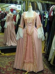 Baroque Gown warm pink