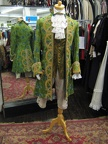 Baroque suit green & gold