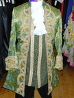 baroque suit green-blue