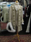 Baroquw suit ivory & gold with hat
