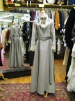 Late Victorian suit grey