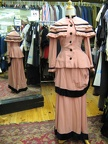 Late Victorian suit pink