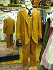 Orange check suit