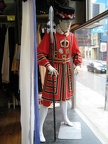 Beefeater with spear