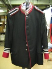 Black red silver jacket Opera