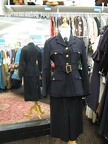 Women's Military suit navy blue
