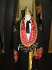 Mariachi jacket black & red