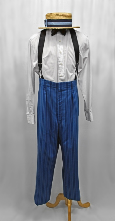 1920's Mens Daywear Blue No Jacket.JPG