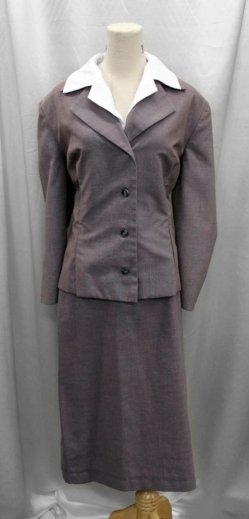 1940's Women's Suit Grey.JPG