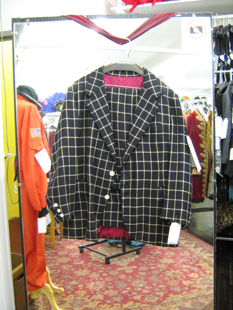 2 button suit black check 42.jpg