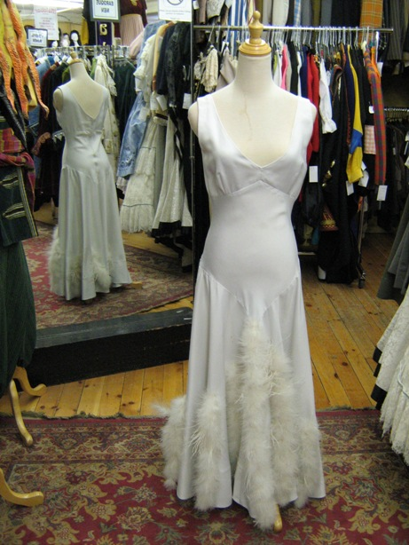 1930's gown white with feather trim.jpg