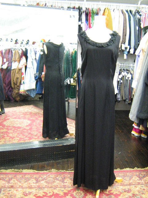 1940's gown black ruffle-neck.jpg