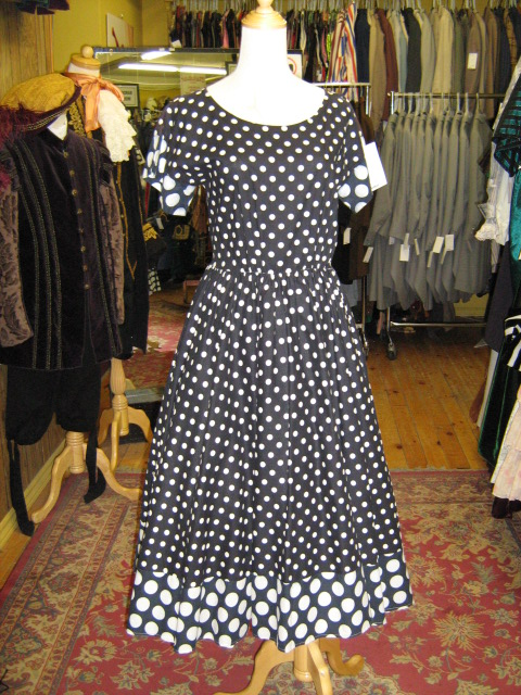 1950's dress b&w polkadot.jpg