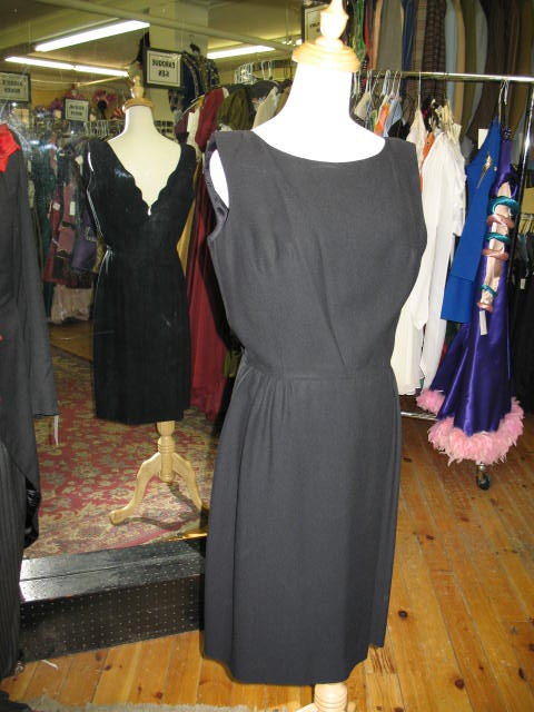 1950's dress black sleeveless.JPG