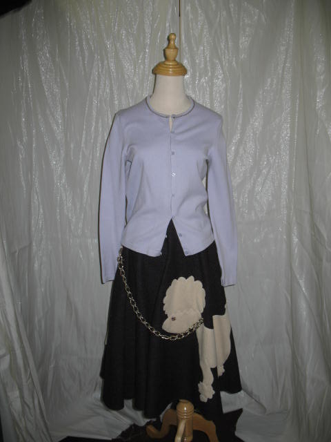 1950's Poodle skirt purple.JPG