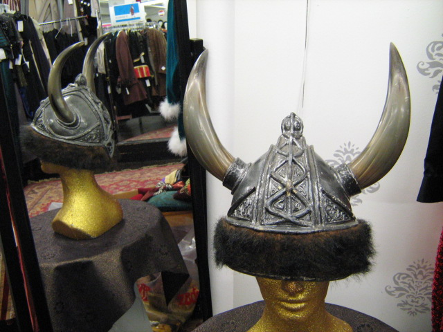 Viking Helmet silver brown fur.jpg