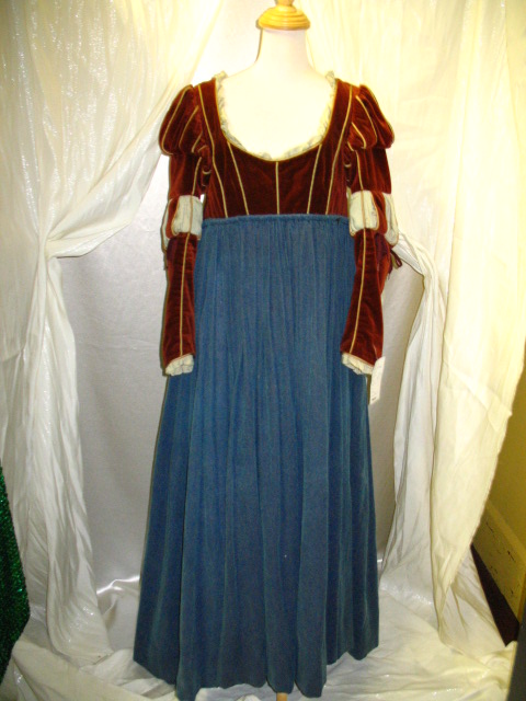 Wench Dress Rust&Blue.JPG