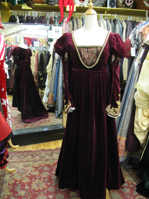 Dress Renaissance Red & Gold.JPG