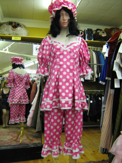 Lady Clown pink polka dots.jpg