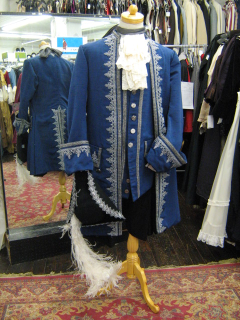Baroque suit blue & silver with hat.jpg