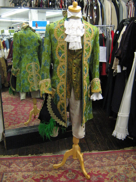Baroque suit green & gold with hat.jpg