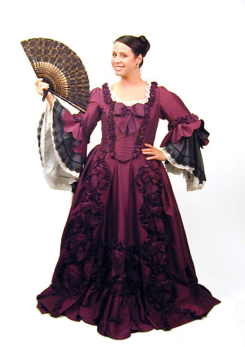 Burgundy Baroque gown.jpg