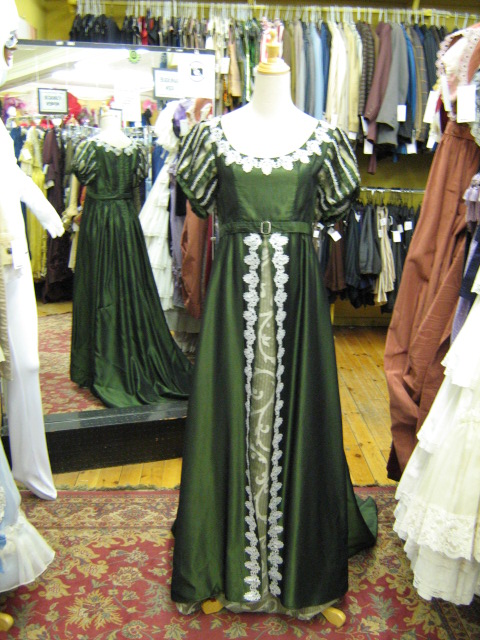 Dress Empire Green & silver.jpg