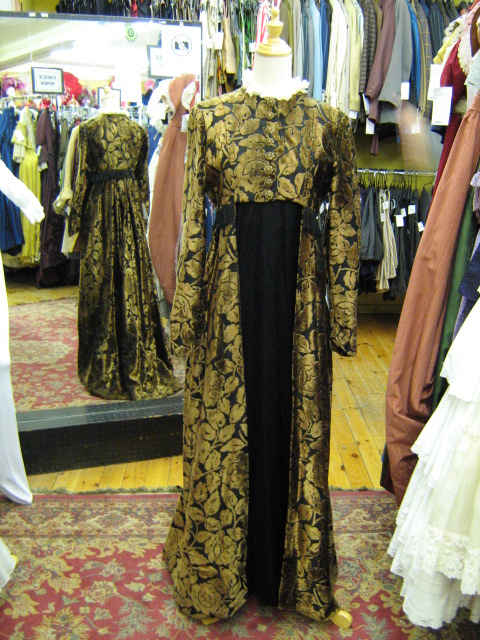 Empire Dress black & bronze.jpg