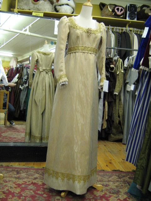 Empire Dress Gold Stripe.jpg