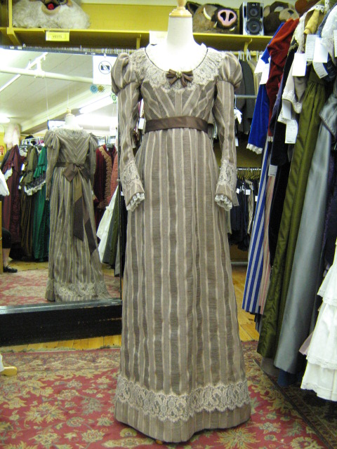 Empire Dress Taupe Stripe.jpg