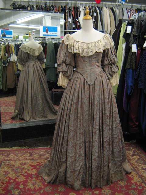Crinoline dress taupe brocade.jpg