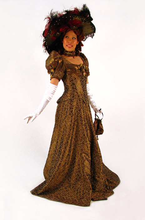 Edwardian Gown bronze.jpg