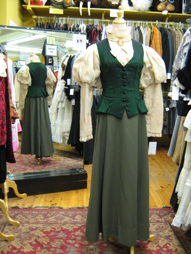 Late Victorian green vest & skirt.jpg