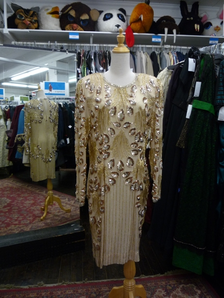 80's dress gold beaded.JPG